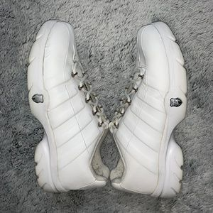 K-Swiss womens white athletic shoe size 6.5 for sale